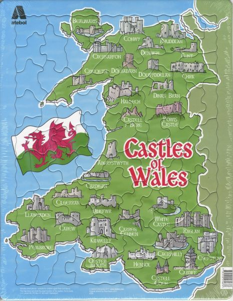 Castles of Wales Jigsaw